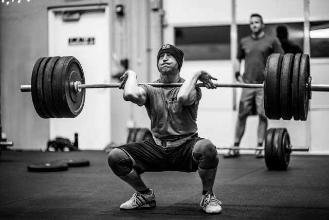 Power Squat Clean RM CrossFit Pinto