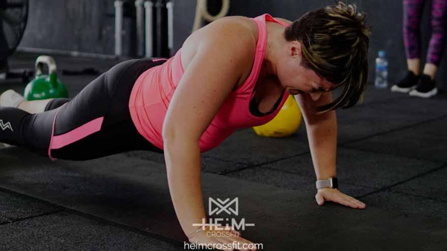 CrossFit Pinto después de dar a luz