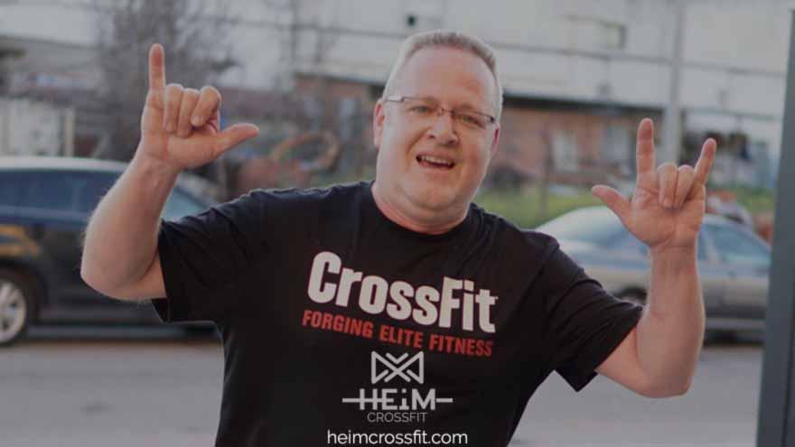 José Gordon Vidas Heim CrossFit Pinto